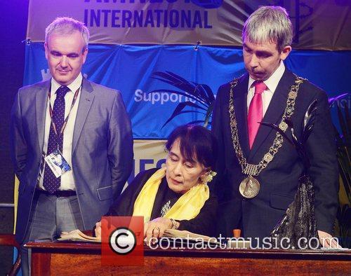 Colm O'Gorman, Aung San Suu Kyi, Andrew Montague...