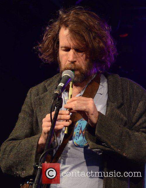Liam O'Maonlai performs at the public Dublin City...