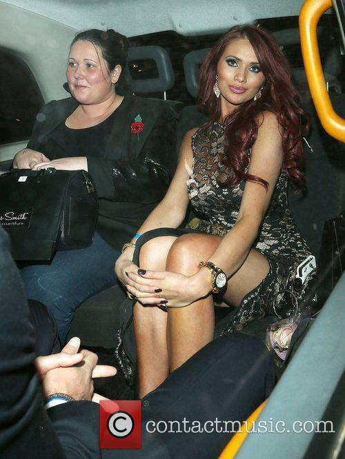 Amy Childs and Aura 4