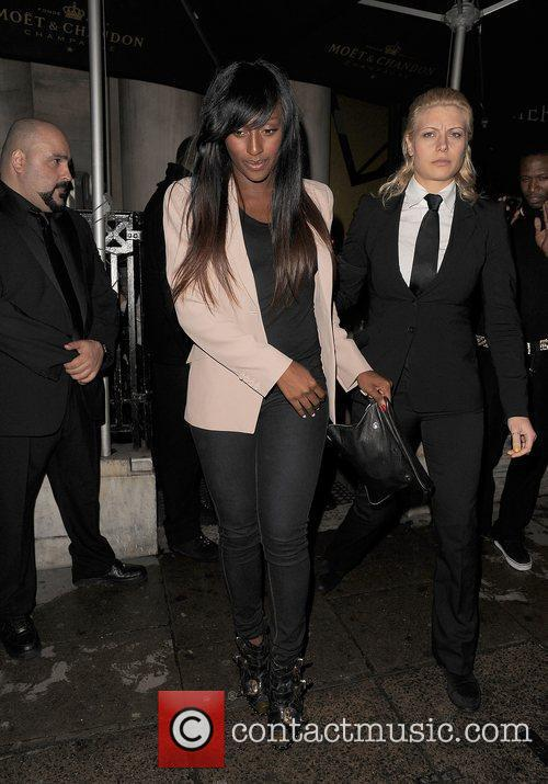 Alexandra Burke leaving Aura nightclub at 3.45am.