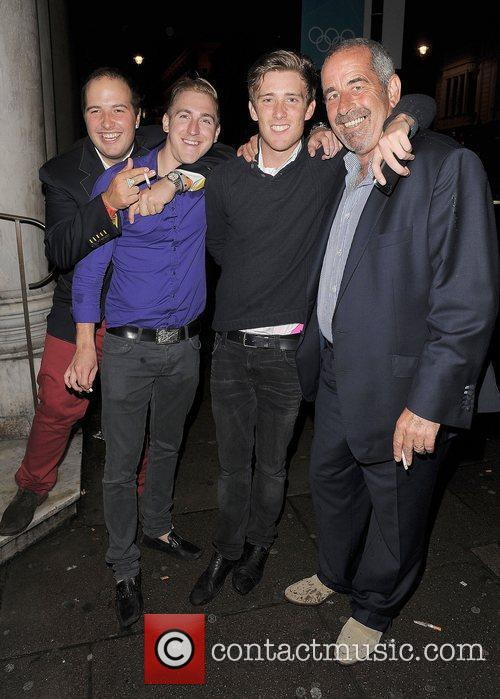 Sam Torrance OBE enjoys a night out with...