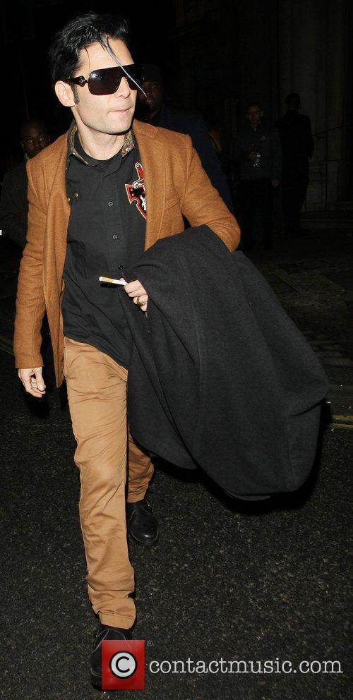Cory Feldman leaving Aura nightclub