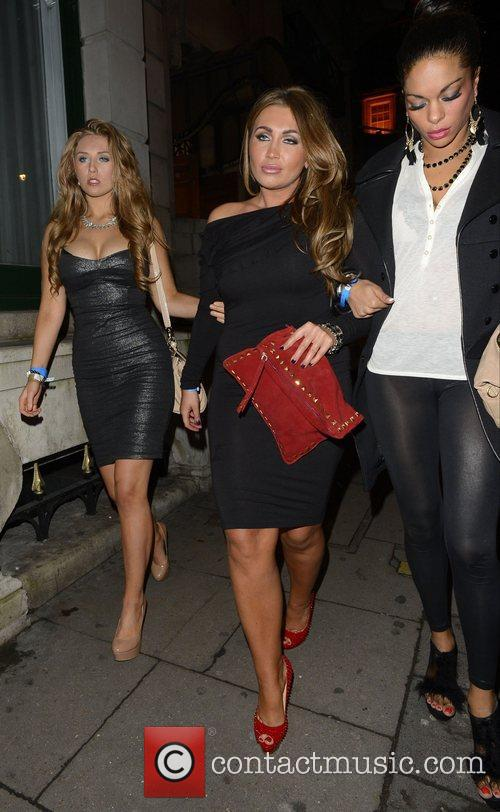 Lauren Goodger and Aura Nightclub 3