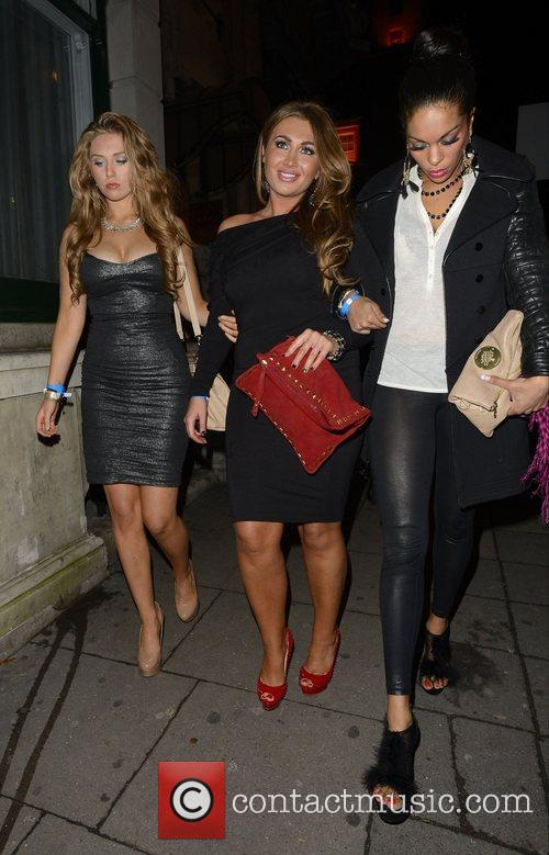 Lauren Goodger and Aura Nightclub 1