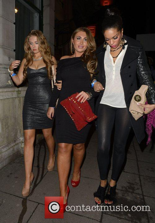Lauren Goodger and Aura Nightclub 5
