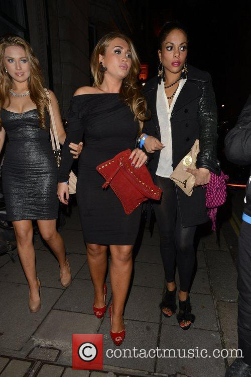 Lauren Goodger and Aura Nightclub 2
