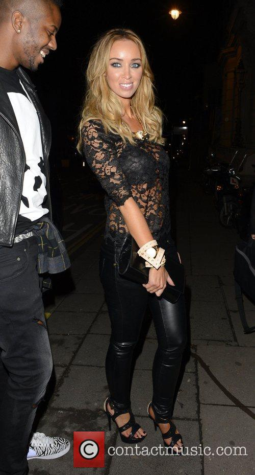 Lauren Pope and Aura Nightclub 3
