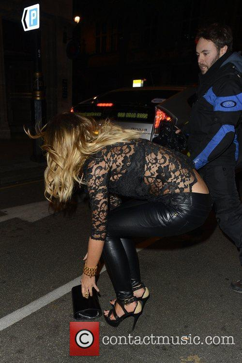 Lauren Pope and Aura Nightclub 2