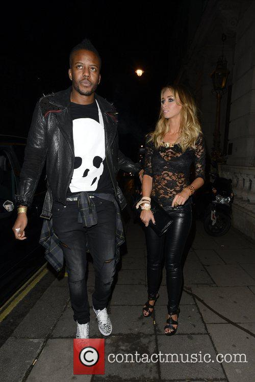 Lauren Pope and Aura Nightclub 10