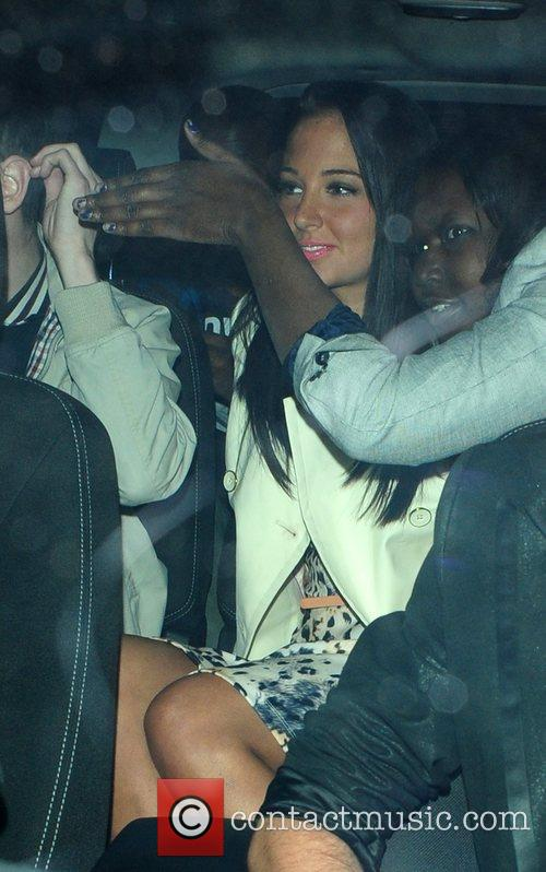 Tulisa Contostavlos and Aura Nightclub 3