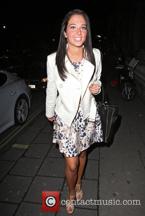 Tulisa Contostavlos and Aura Nightclub 1