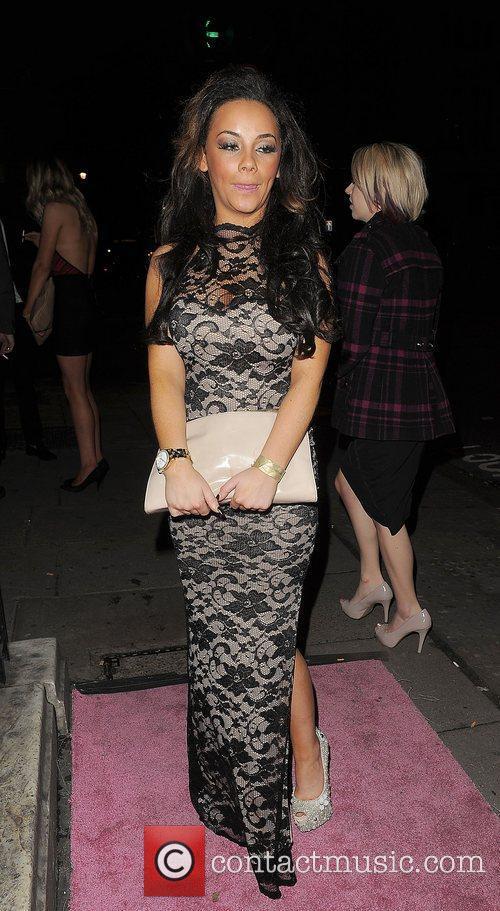 chelsee healey leaving aura nightclub london england 4187124