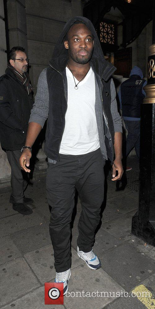 Michael Essien and Aura Nightclub