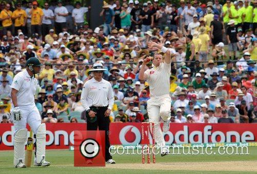Peter Siddle  Australia Vs. South Africa Cricket...