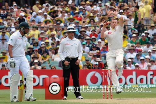 Australia Vs. South Africa Cricket Match held in...