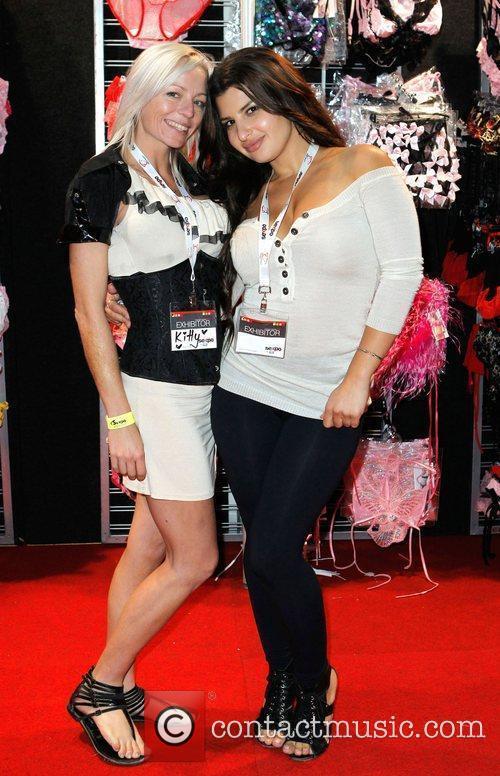 Lingerie merchandise exhibitors Sexpo, the health, sexuality and...