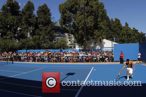 Bernard Tomic Australian Open Tennis 2013 - Rod...