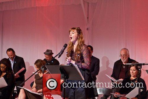 Amber Tamblyn Celebrities appear and perform at a...