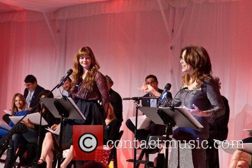 Amber Tamblyn, Mary McDonnell Celebrities appear and perform...