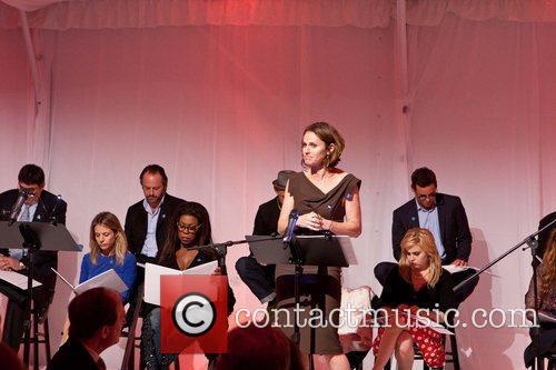 Amy Brenneman Celebrities appear and perform at a...