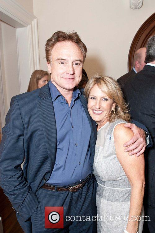Bradley Whitford, Nanci Fredkin Celebrities appear and perform...