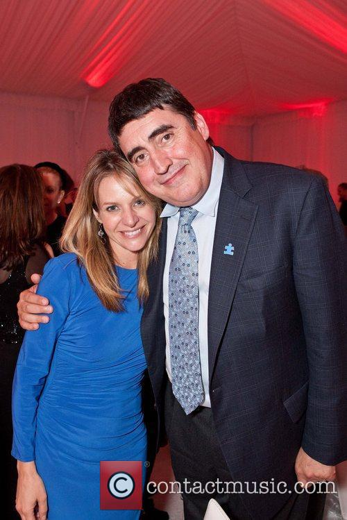 Jessalyn Gilsig and Alfred Molina