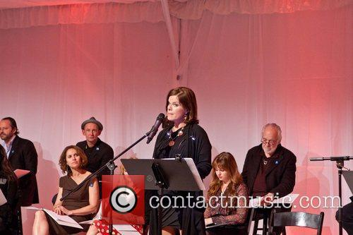 Marcia Gay Harden Celebrities appear and perform at...