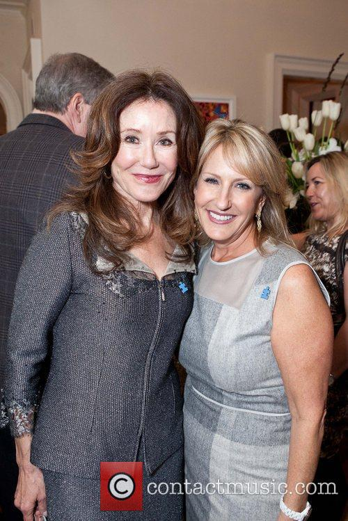 Mary McDonnell, Event Chair Nanci Fredkin Celebrities appear...