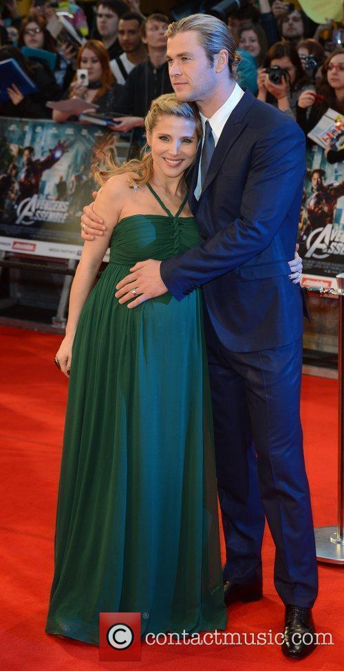 Elsa Pataky, Avengers and Chris Hemsworth 2