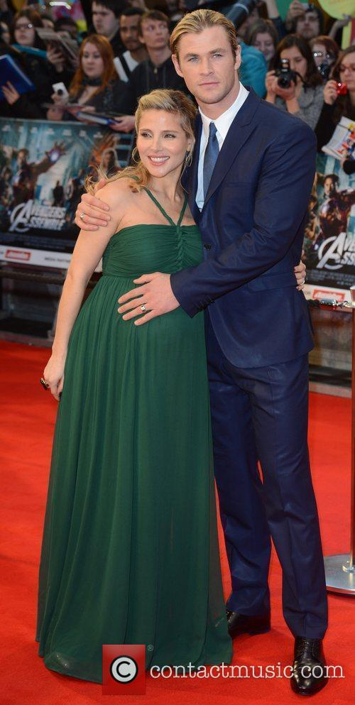 Elsa Pataky, Avengers and Chris Hemsworth 3