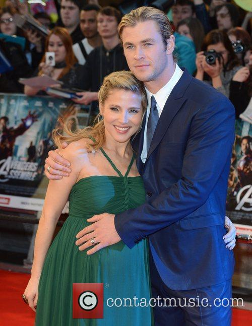 Elsa Pataky, Avengers and Chris Hemsworth 4