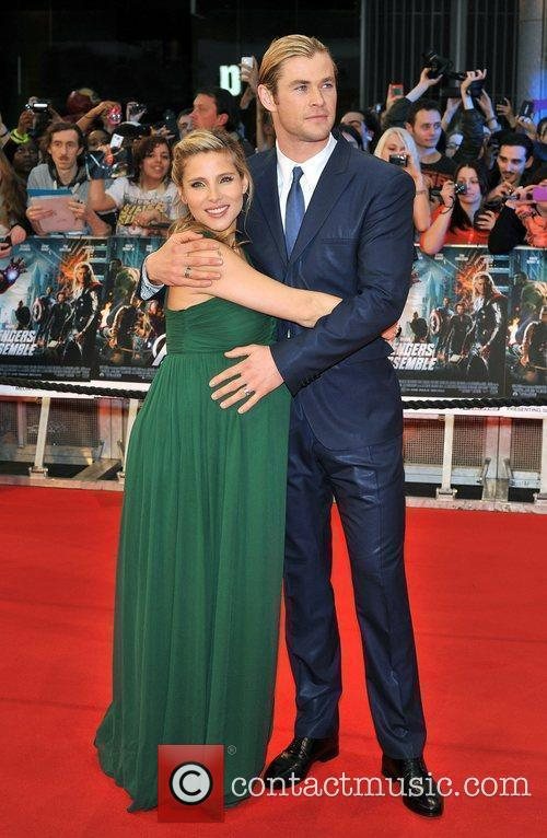 Chris Hemsworth and Elsa Pataky 5