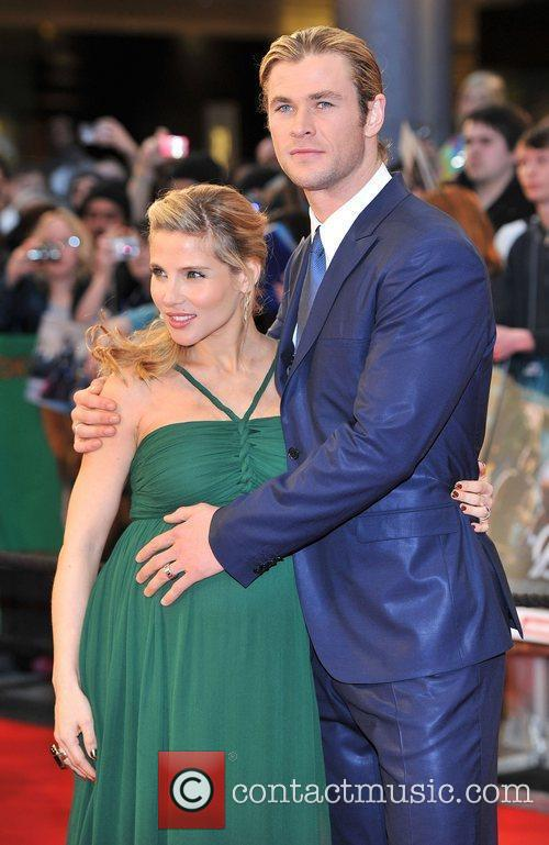 Chris Hemsworth and Elsa Pataky 8