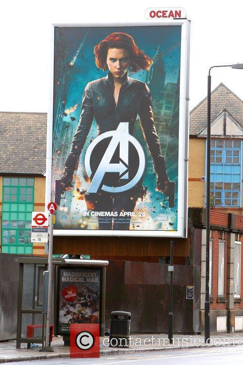 Billboard and Avengers 2