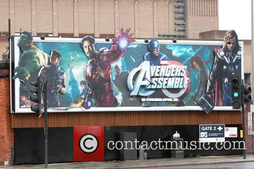 Billboard and Avengers 1
