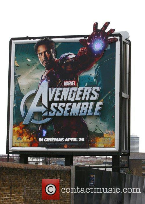 Billboard and Avengers 3