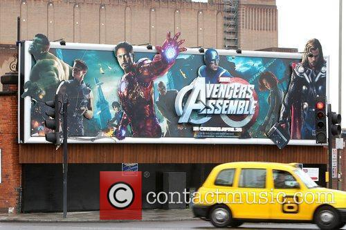 Billboard and Avengers 4