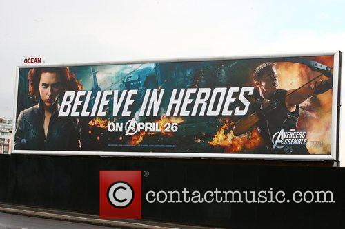 Billboard and Avengers 5