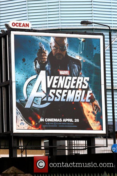 Billboard and Avengers 7