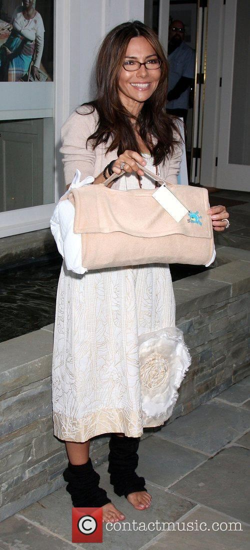 Vanessa Marcil-Giovinazzo at the launch of 'Baby Gagoo'...