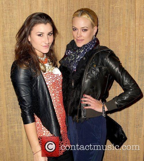 L-R) Nicole Volynets and dancer Peta Murgatroyd,...