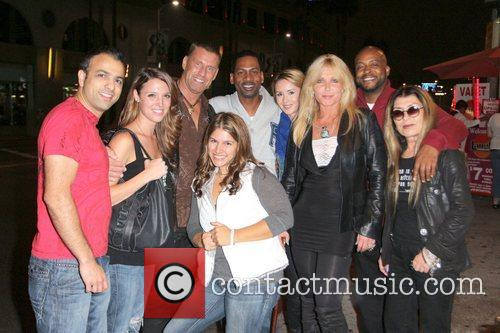Pamela Bach-hasselhoff, Tony Rock, Laugh Factory and Sunset Boulevard
