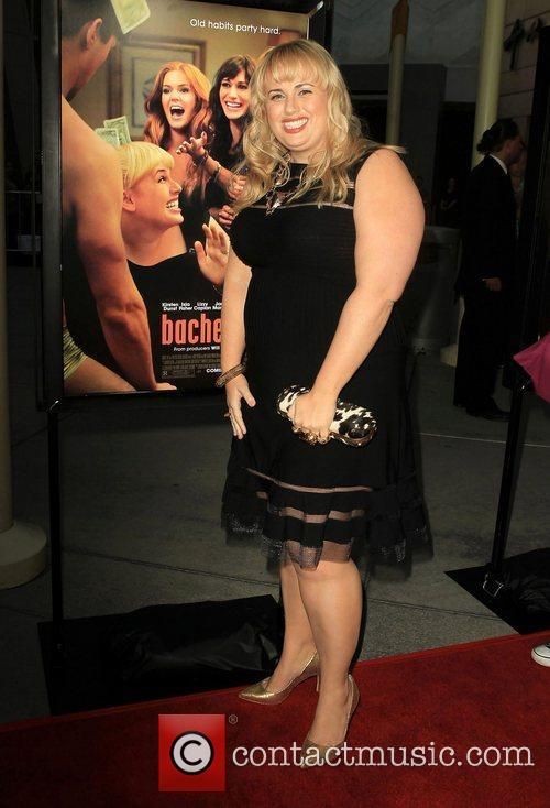 Rebel Wilson ,  at the premiere of...