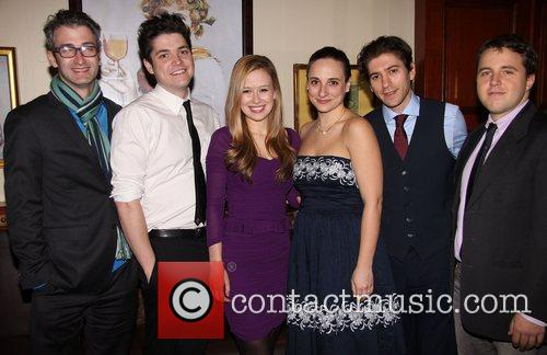 Opening night party for the theatre production of...