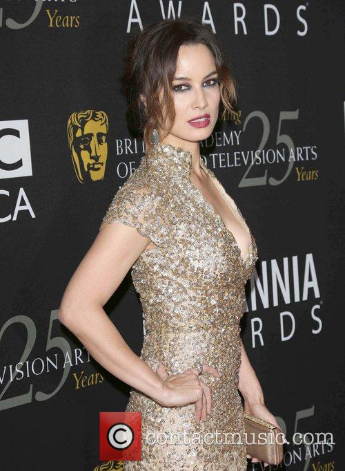 Berenice Marlohe and Beverly Hilton Hotel 1