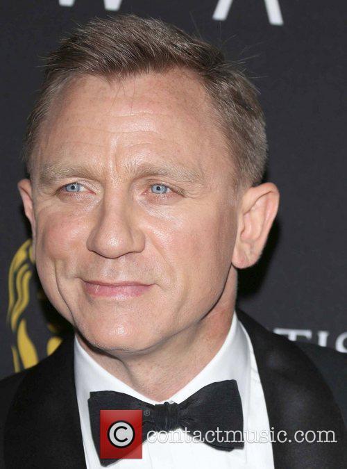 Daniel Craig and Beverly Hilton Hotel 3