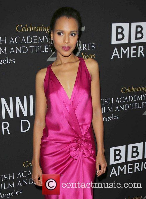 Kerry Washington and Beverly Hilton Hotel 2