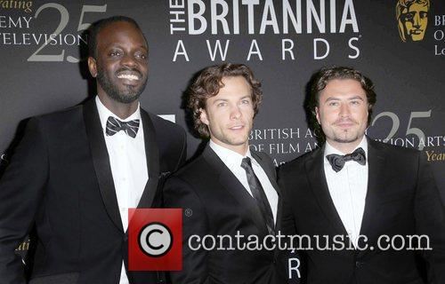 Kevin Ryan, Kyle Schmid, Ato Essandoh and Beverly Hilton Hotel 8