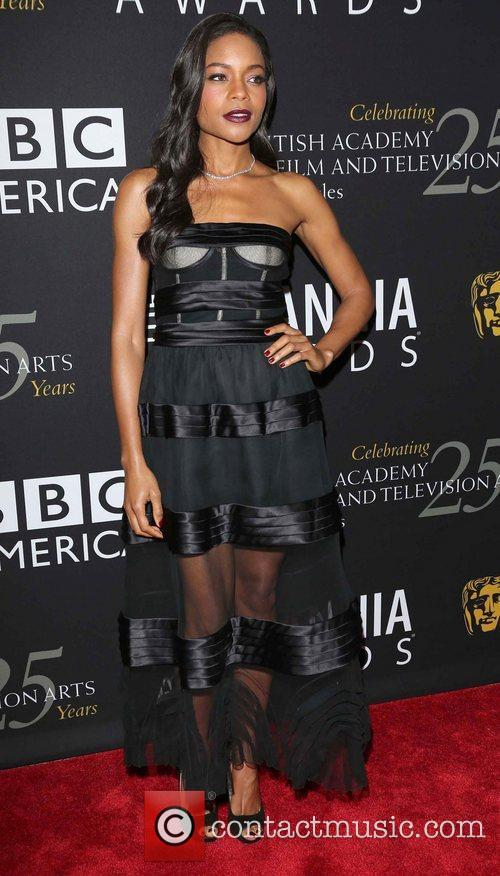 Naomie Harris and Beverly Hilton Hotel 6
