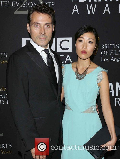 Rufus Sewell and Beverly Hilton Hotel 2